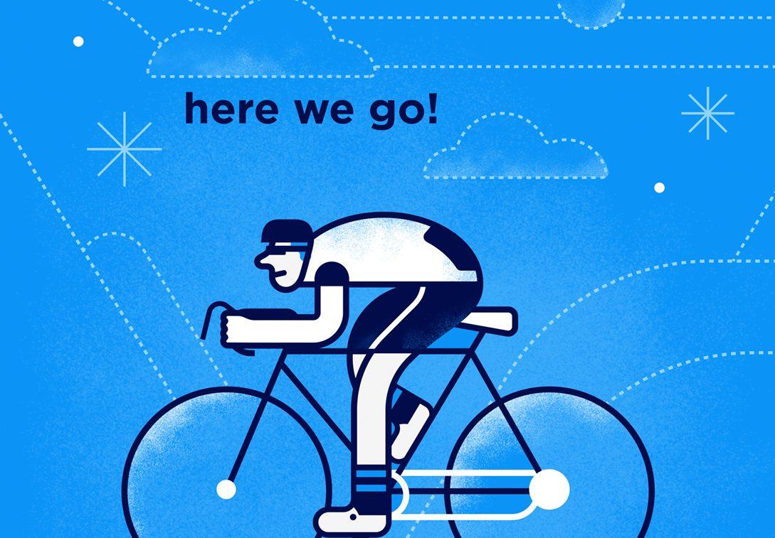bicicleta ilustración